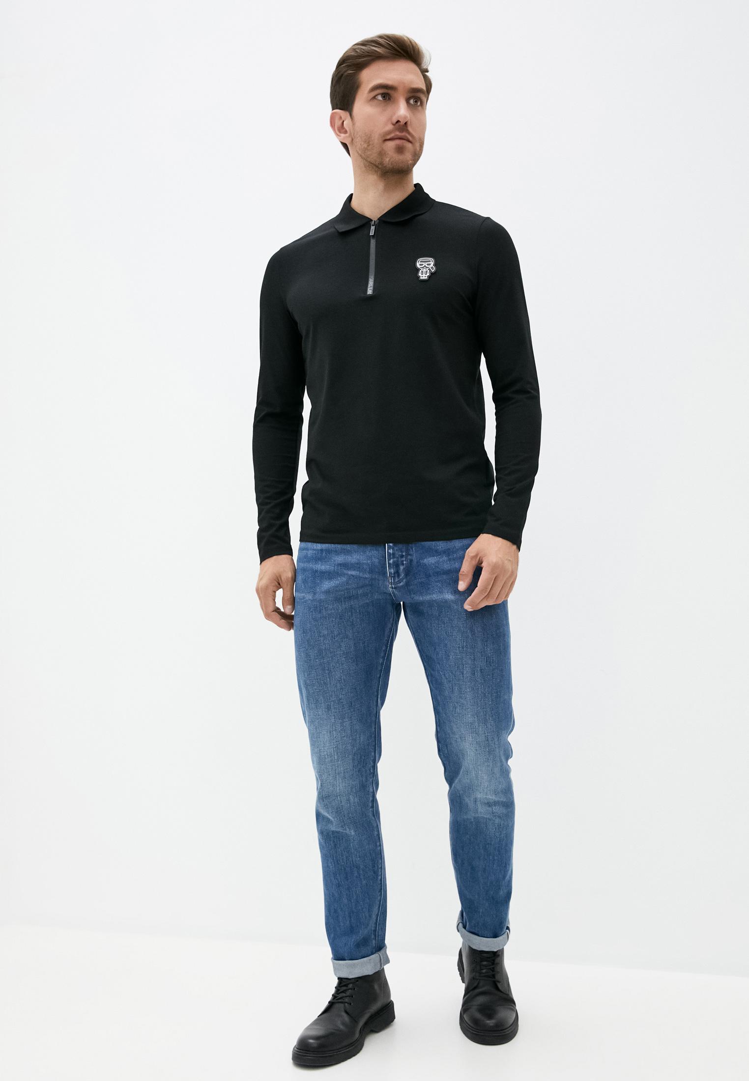 Мужские поло Karl Lagerfeld (Карл Лагерфельд) 745081-502221: изображение 3