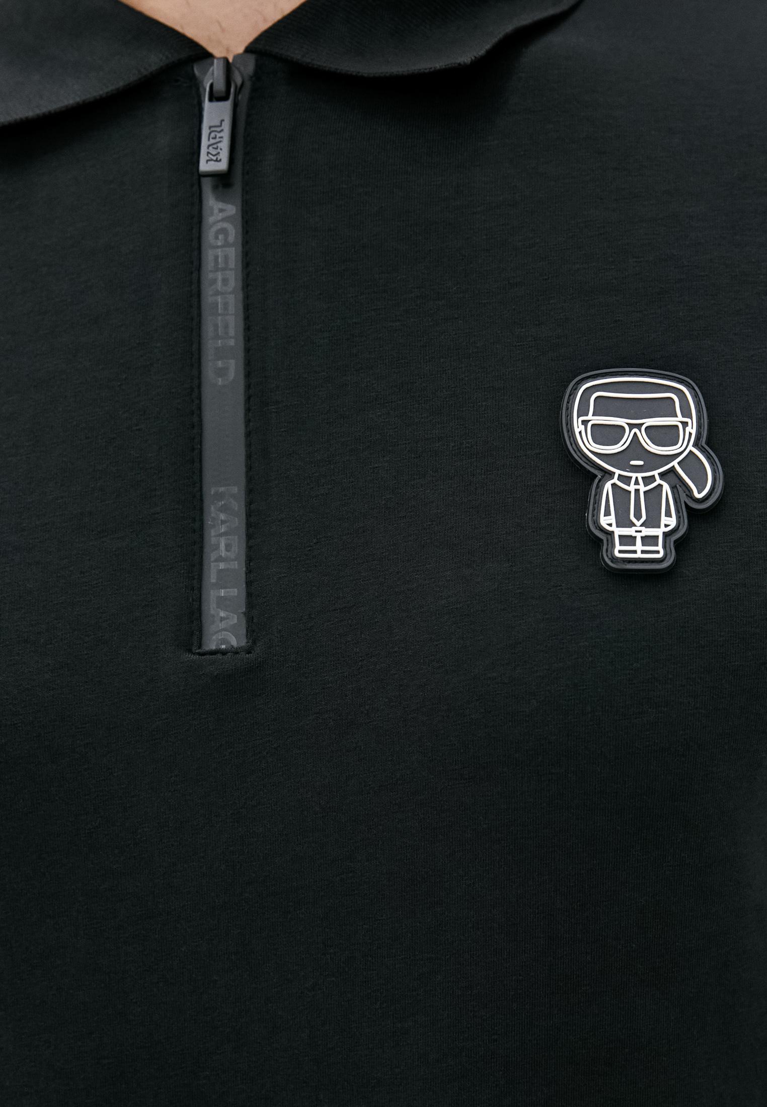 Мужские поло Karl Lagerfeld (Карл Лагерфельд) 745081-502221: изображение 5