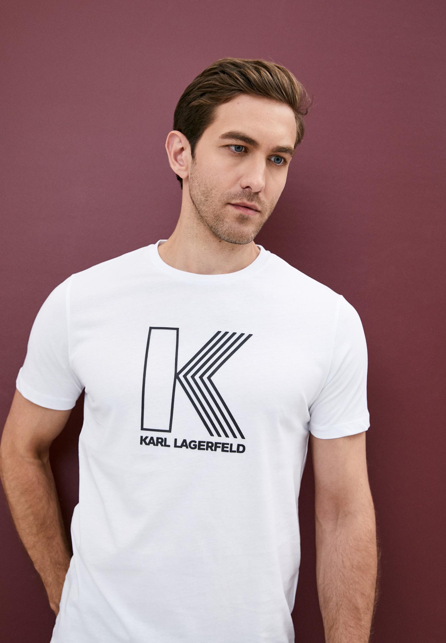 Мужская футболка Karl Lagerfeld (Карл Лагерфельд) 755032-502224