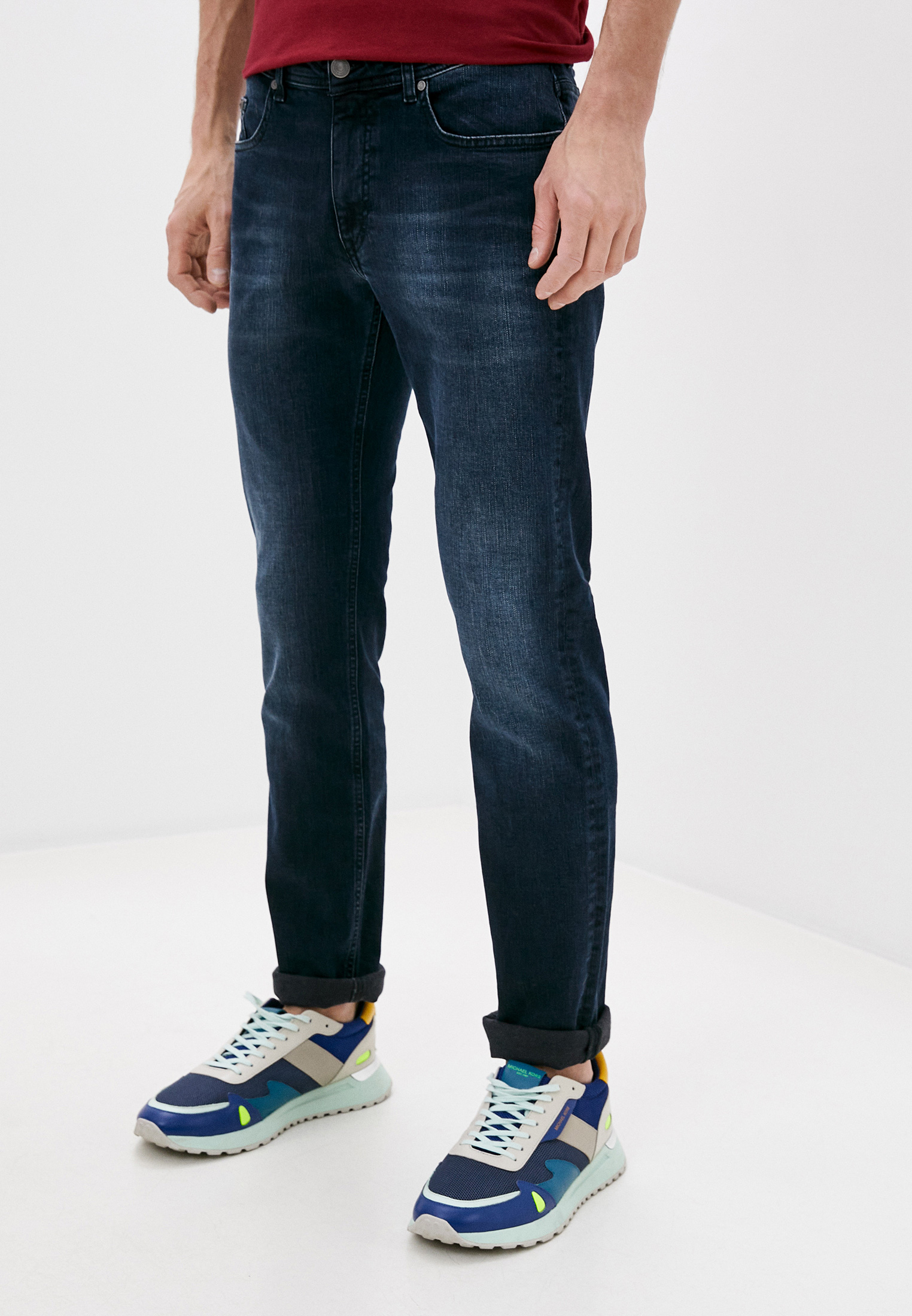 Мужские прямые джинсы Karl Lagerfeld (Карл Лагерфельд) 265800-502835