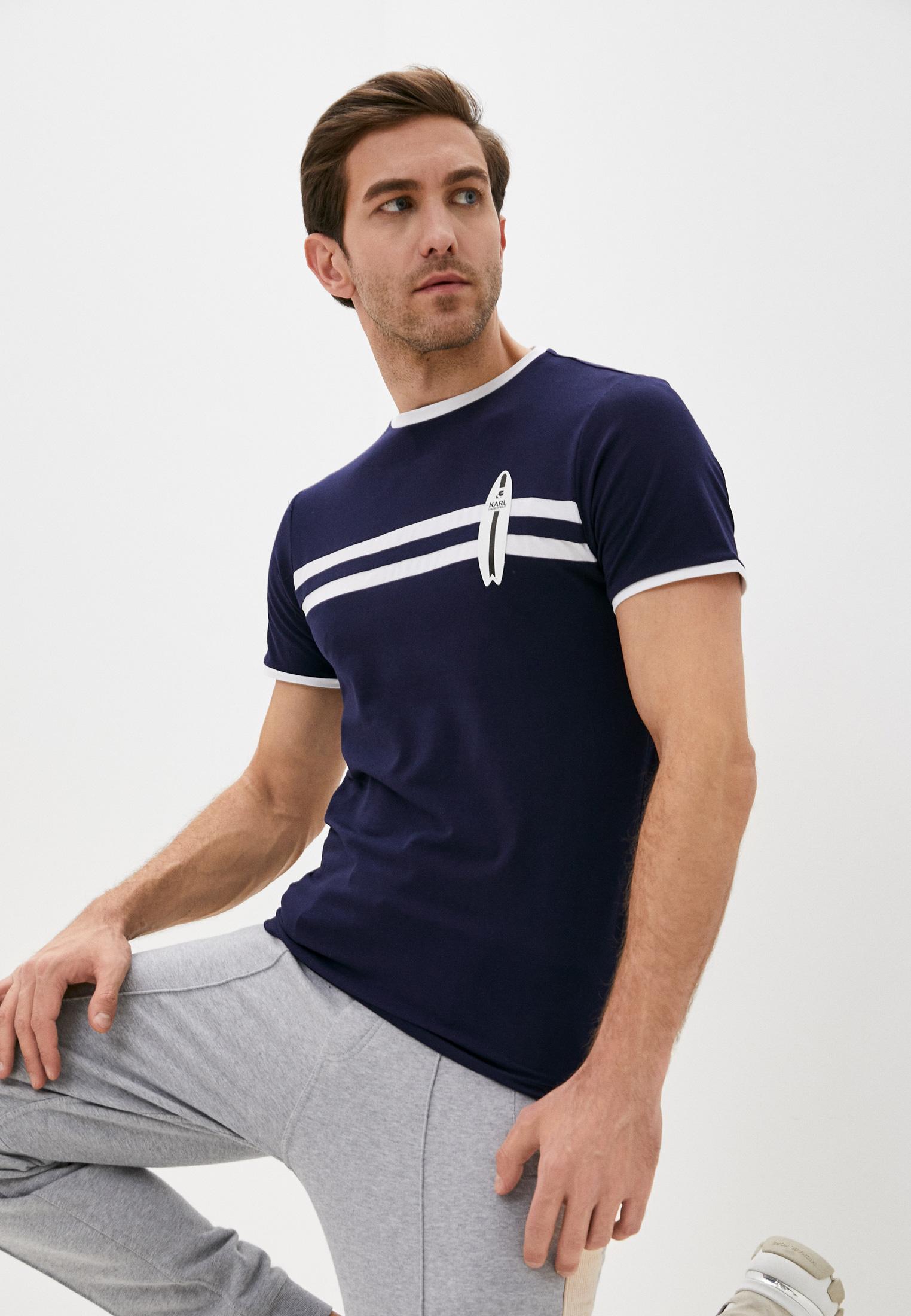 Мужская футболка Karl Lagerfeld (Карл Лагерфельд) KL19MTS02