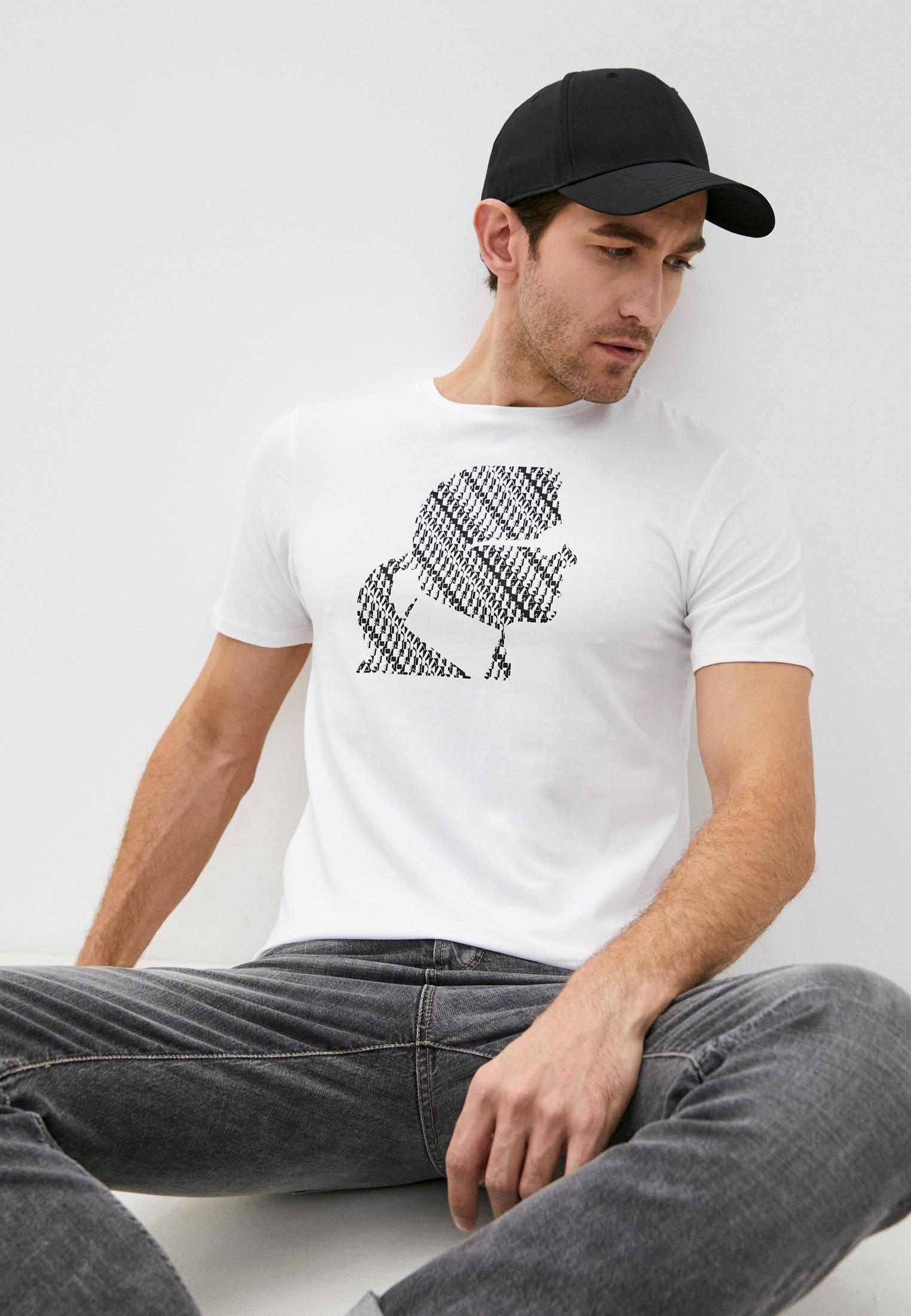 Мужская футболка Karl Lagerfeld (Карл Лагерфельд) KL20MTS01