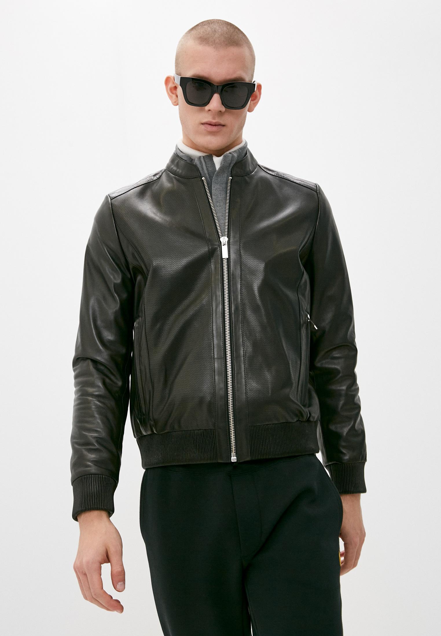 Кожаная куртка Karl Lagerfeld (Карл Лагерфельд) 555004 511400