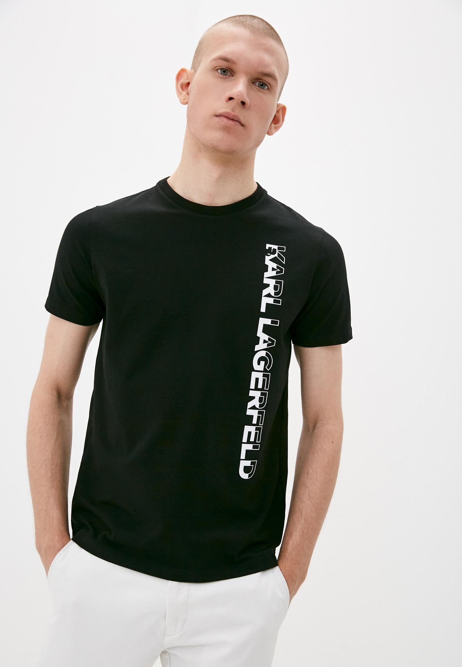 Мужская футболка Karl Lagerfeld (Карл Лагерфельд) 755023 511221