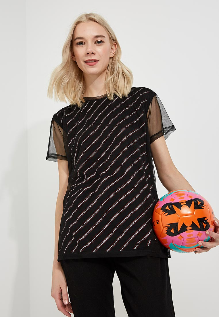 Футболка с коротким рукавом Karl Lagerfeld 86kw1722