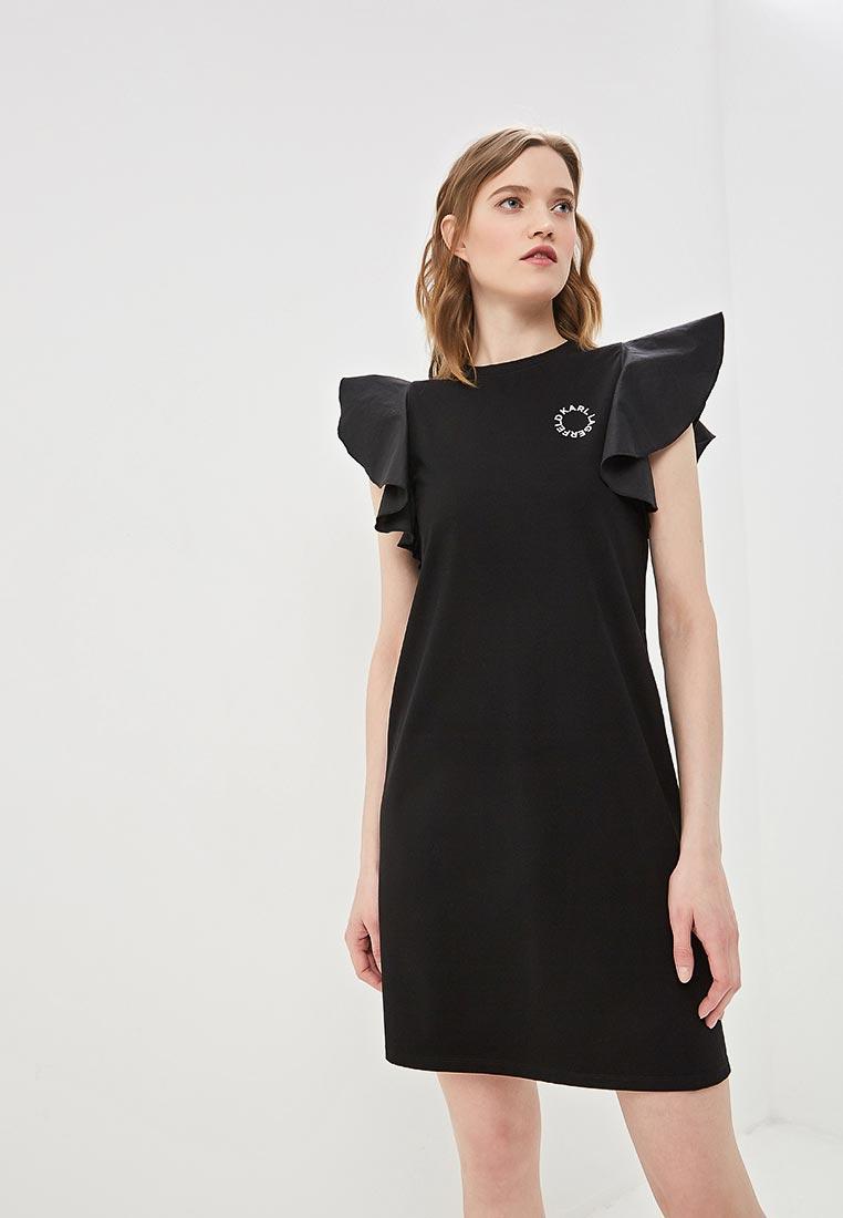 Повседневное платье Karl Lagerfeld 91kw1720