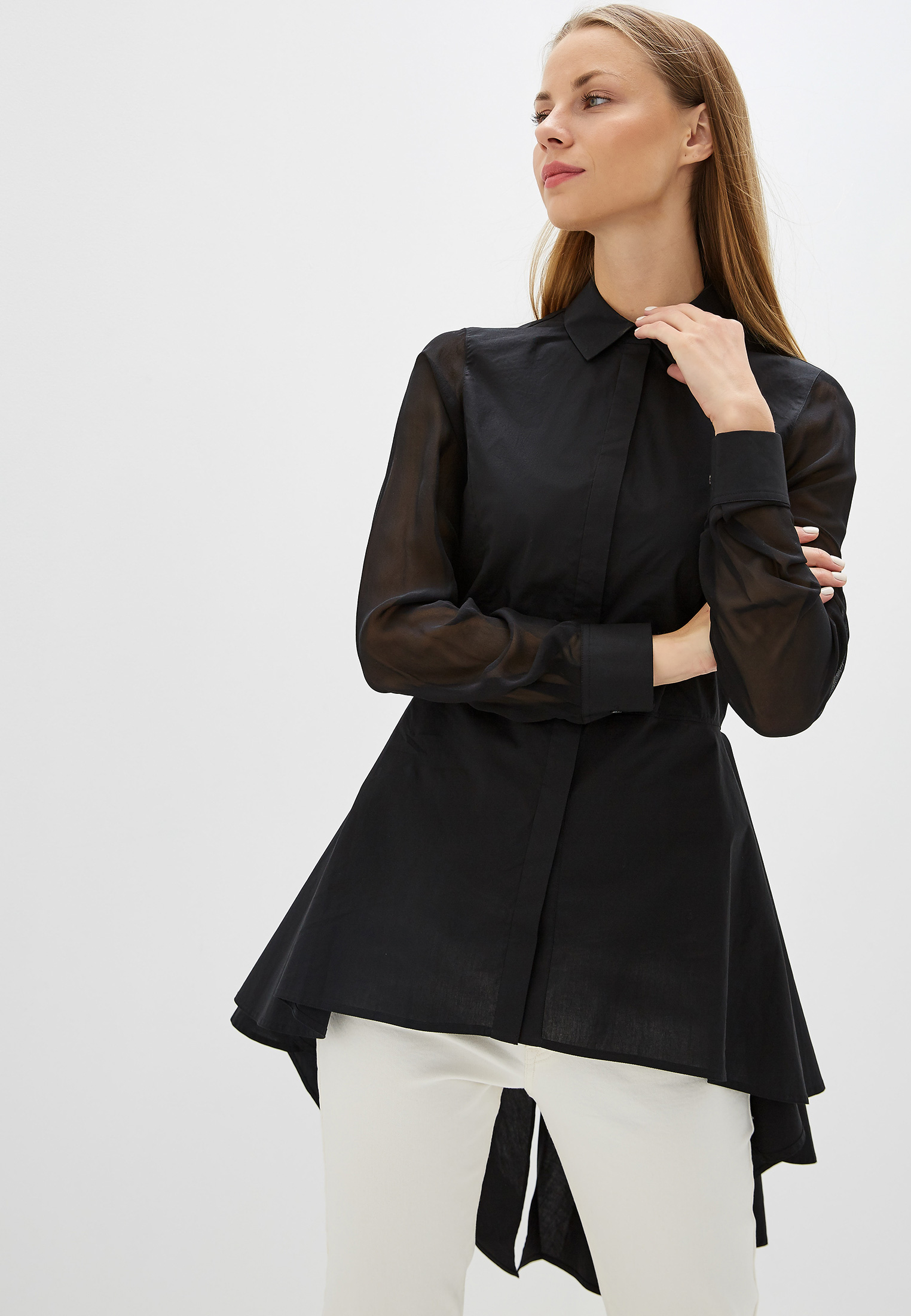 Женские рубашки с длинным рукавом Karl Lagerfeld 96KW1602