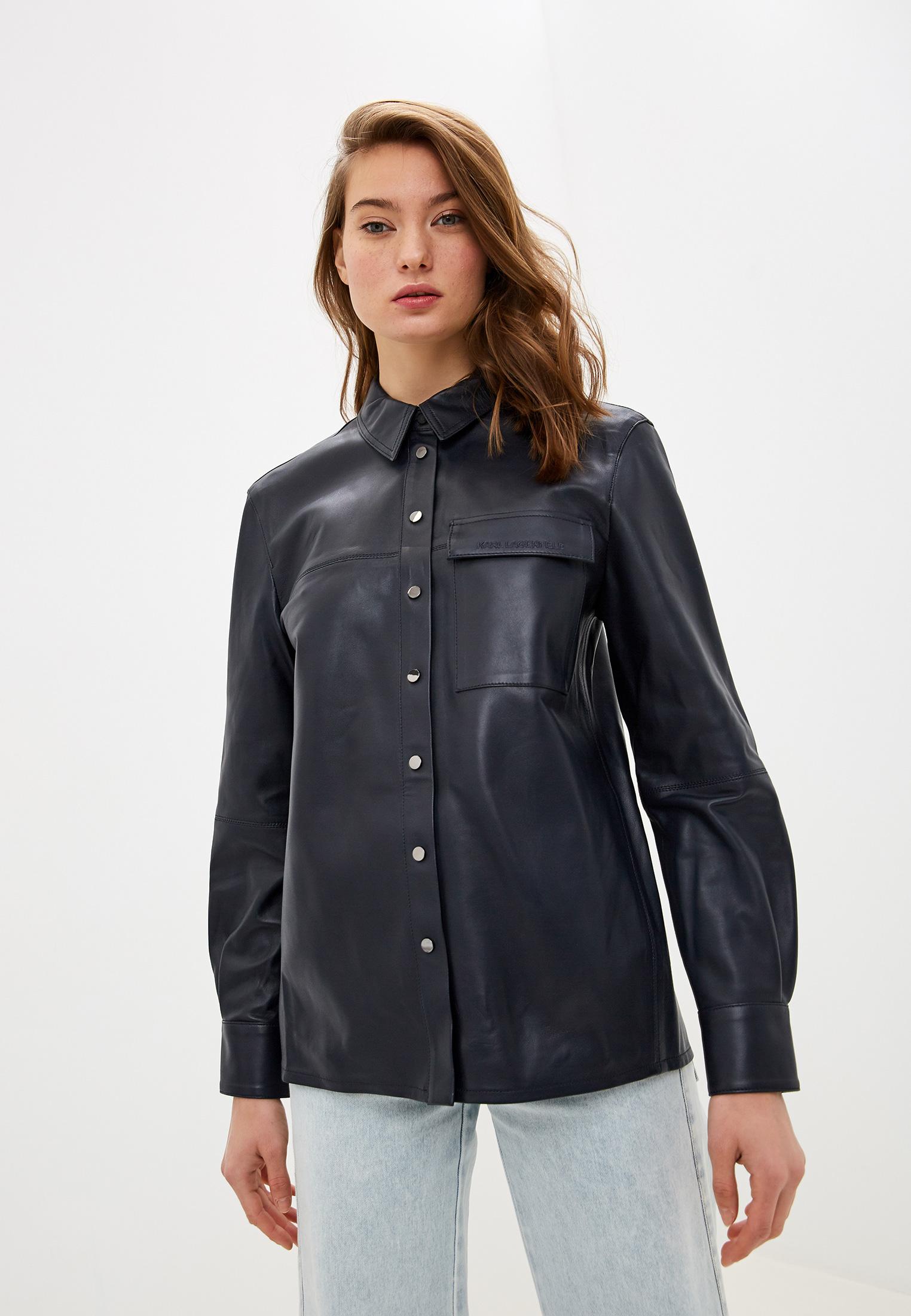 Женские рубашки с длинным рукавом Karl Lagerfeld 96KW1906