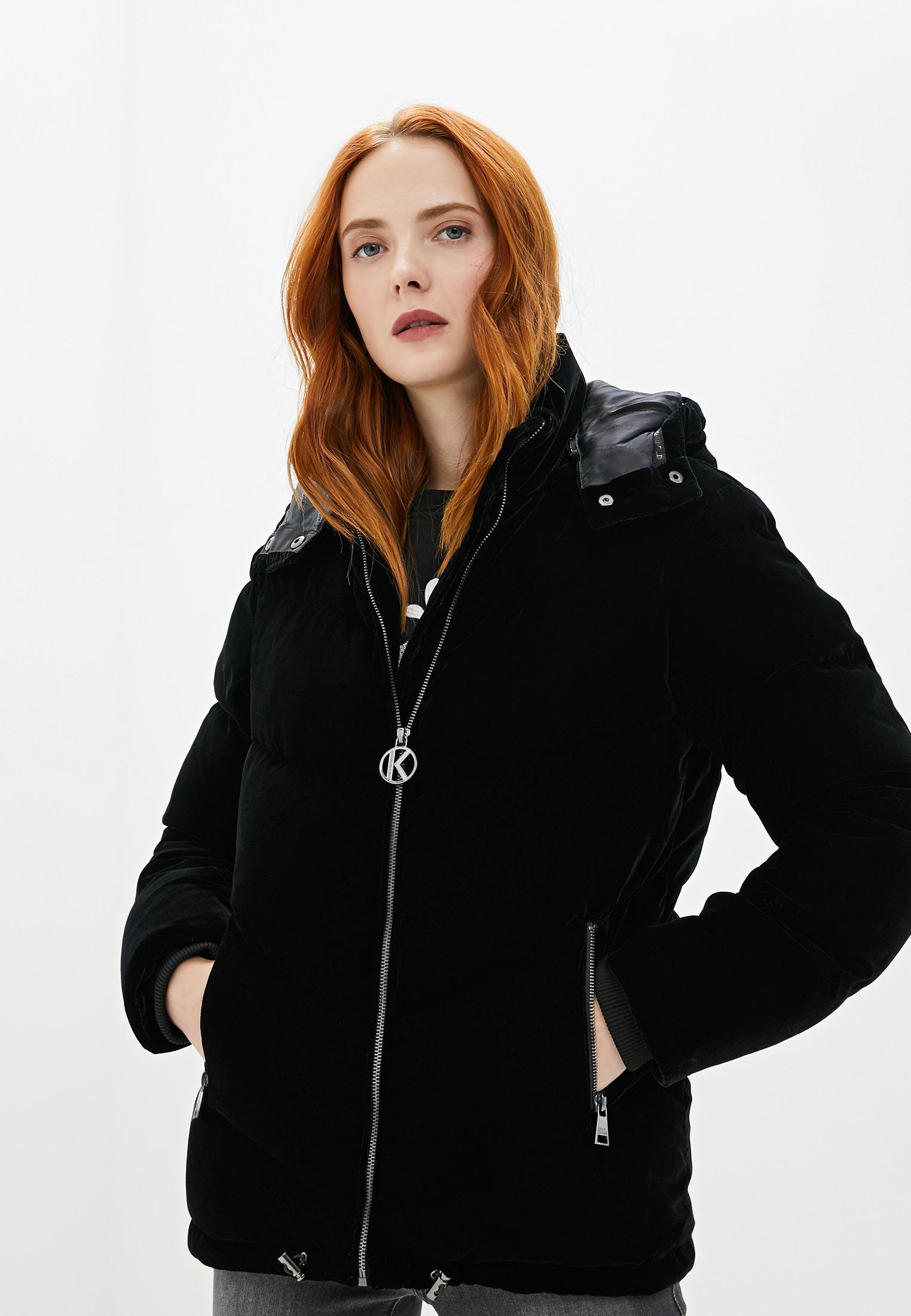 Утепленная куртка Karl Lagerfeld 96KW1510