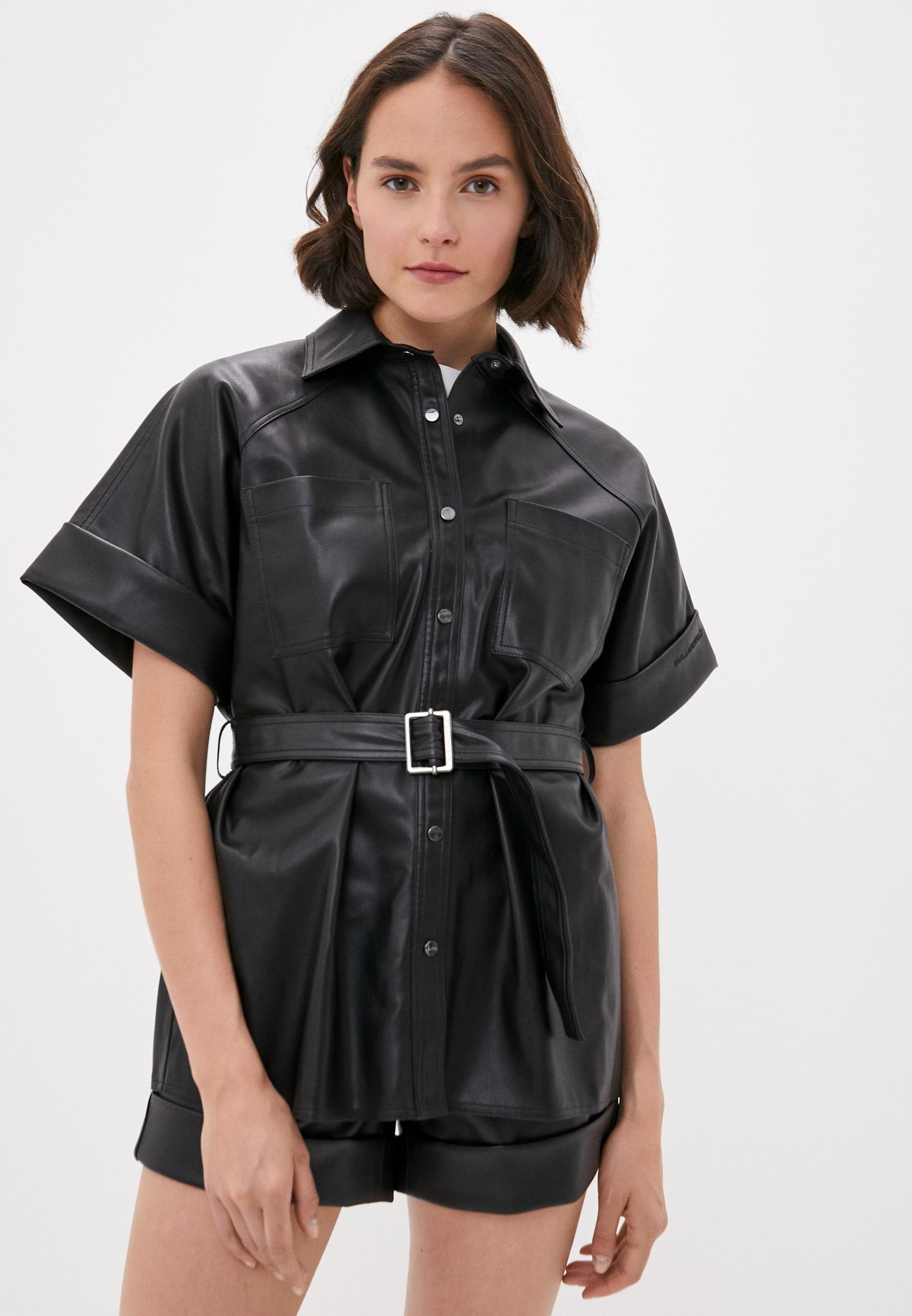 Рубашка с коротким рукавом Karl Lagerfeld 205W1605
