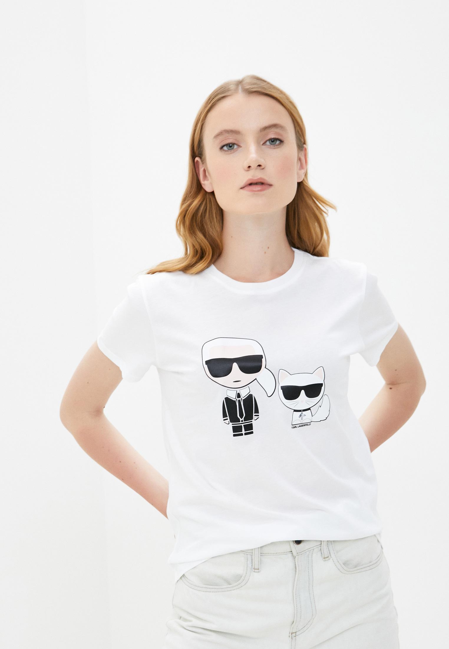 Футболка с коротким рукавом Karl Lagerfeld 205W1707: изображение 1