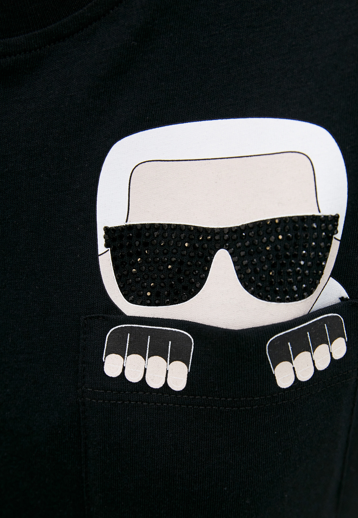 Футболка с коротким рукавом Karl Lagerfeld 210W1720: изображение 5