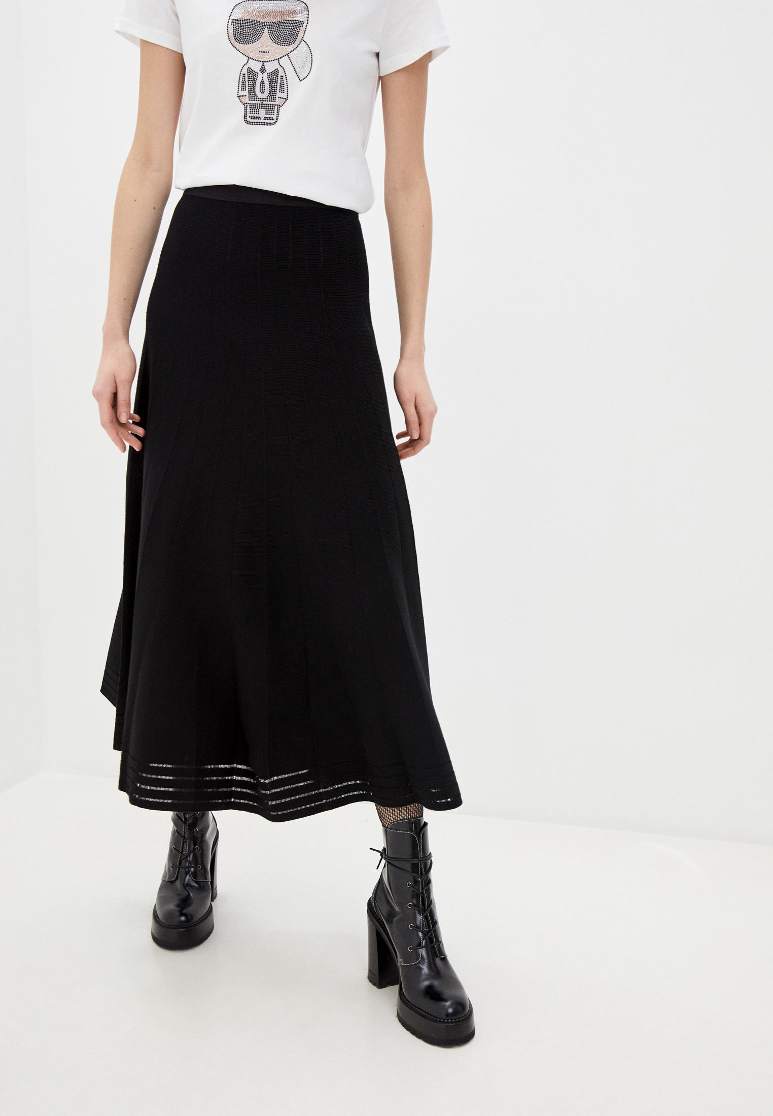 Широкая юбка Karl Lagerfeld 210W2004