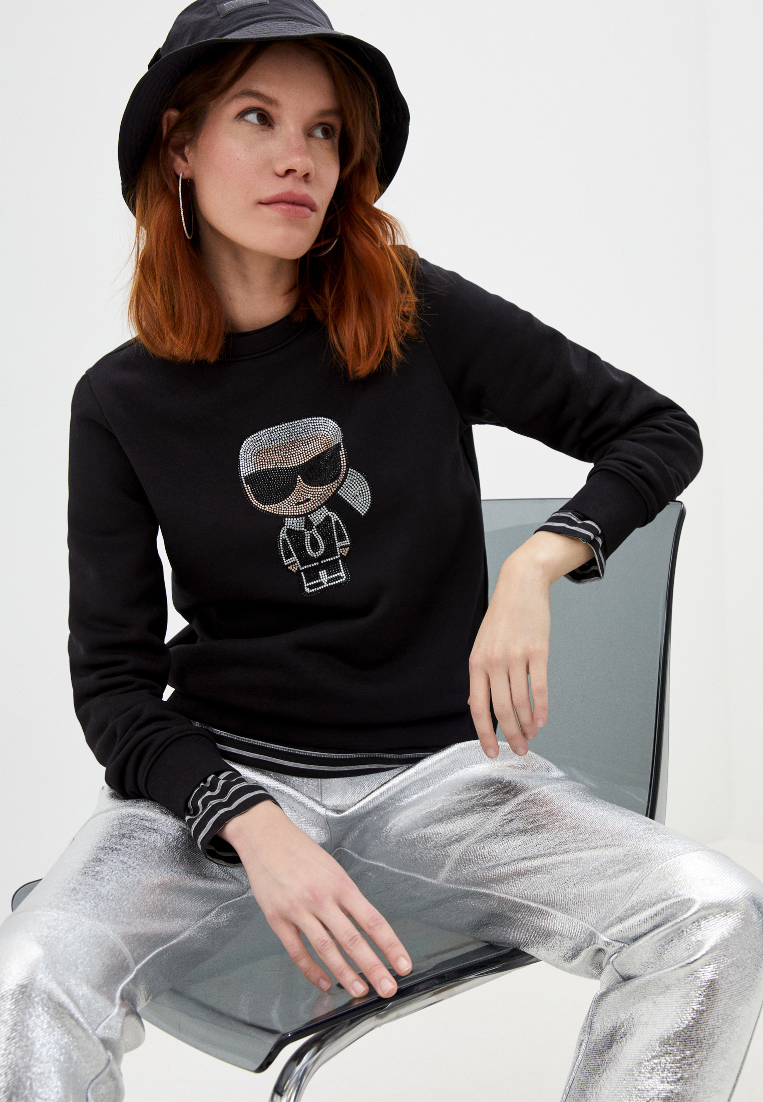 Свитер Karl Lagerfeld Свитшот Karl Lagerfeld