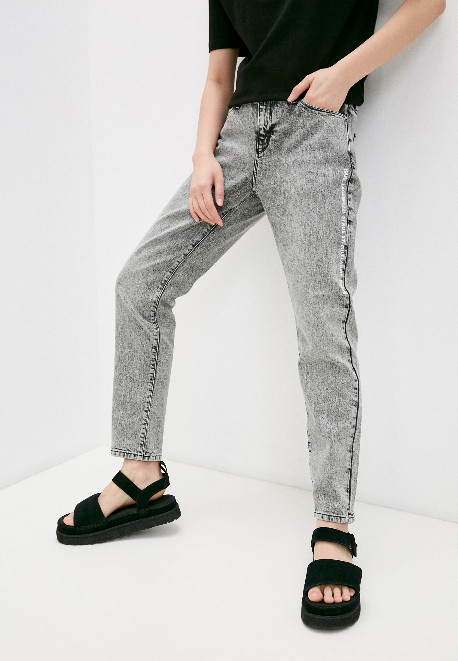 Зауженные джинсы Karl Lagerfeld Брюки Karl Lagerfeld