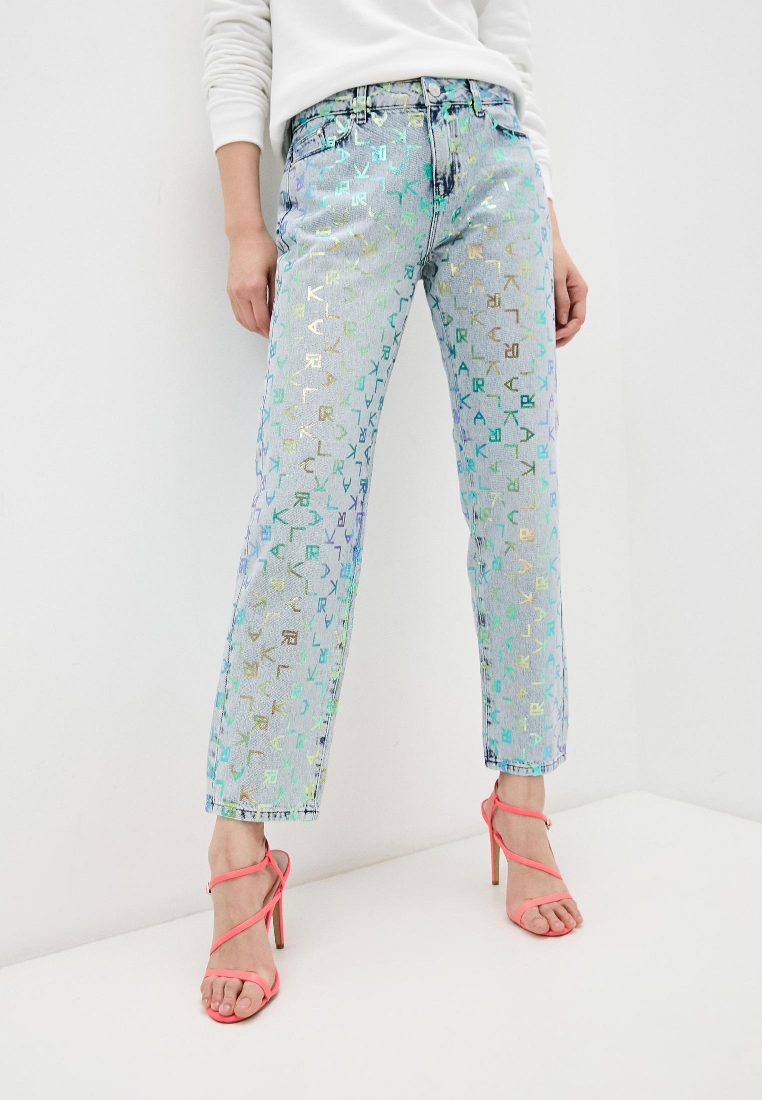 Прямые джинсы Karl Lagerfeld 211W1102