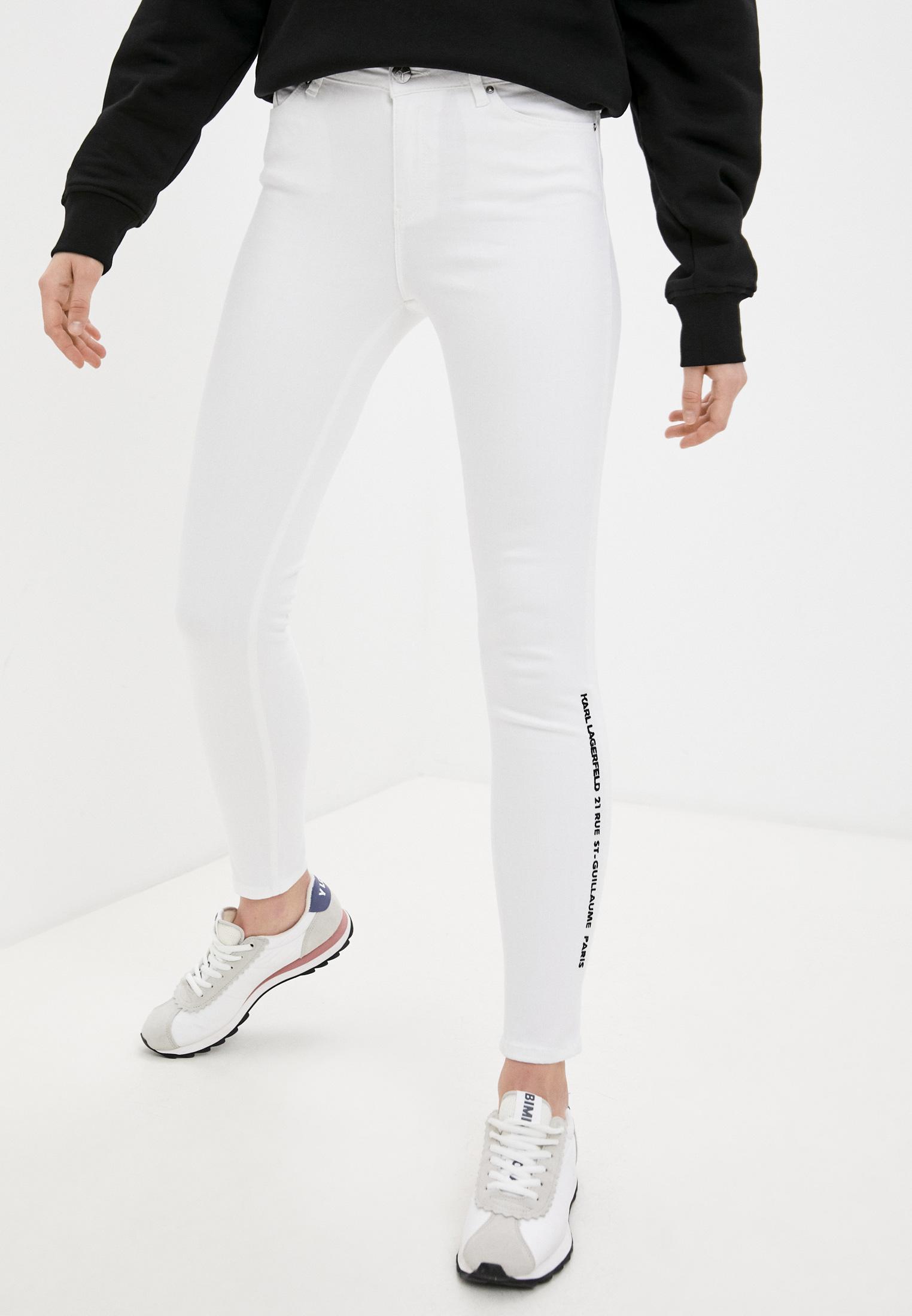 Зауженные джинсы Karl Lagerfeld 211W1103