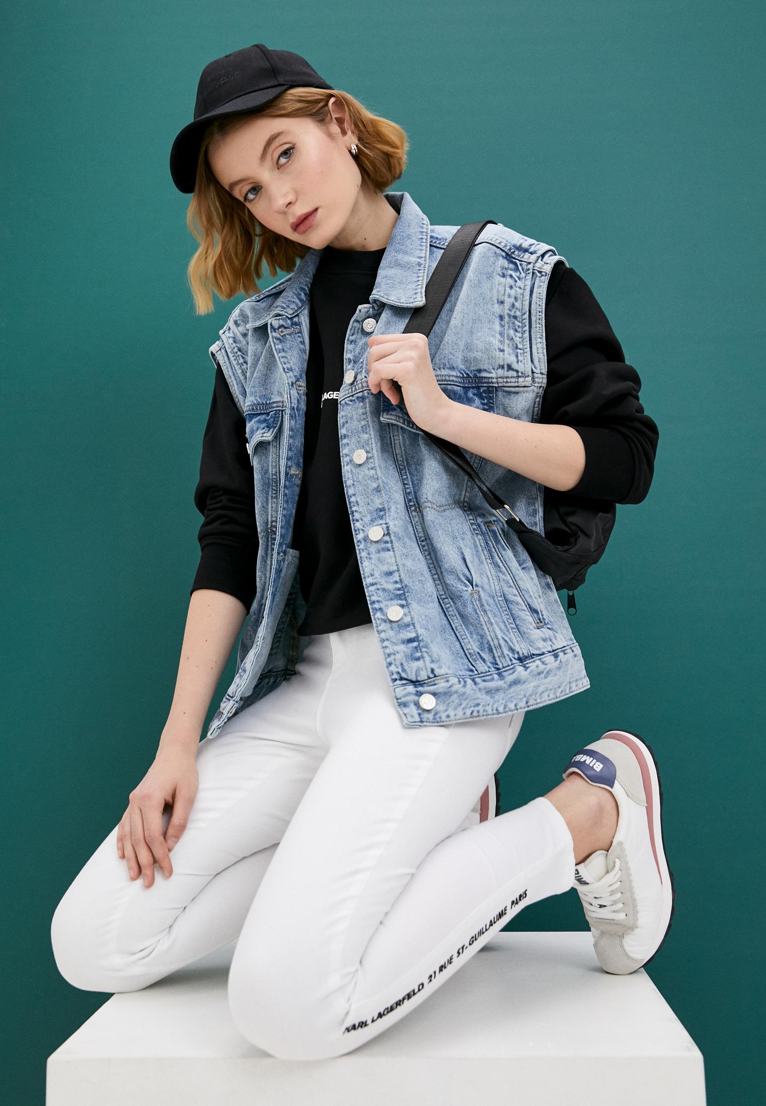 Зауженные джинсы Karl Lagerfeld 211W1103: изображение 2