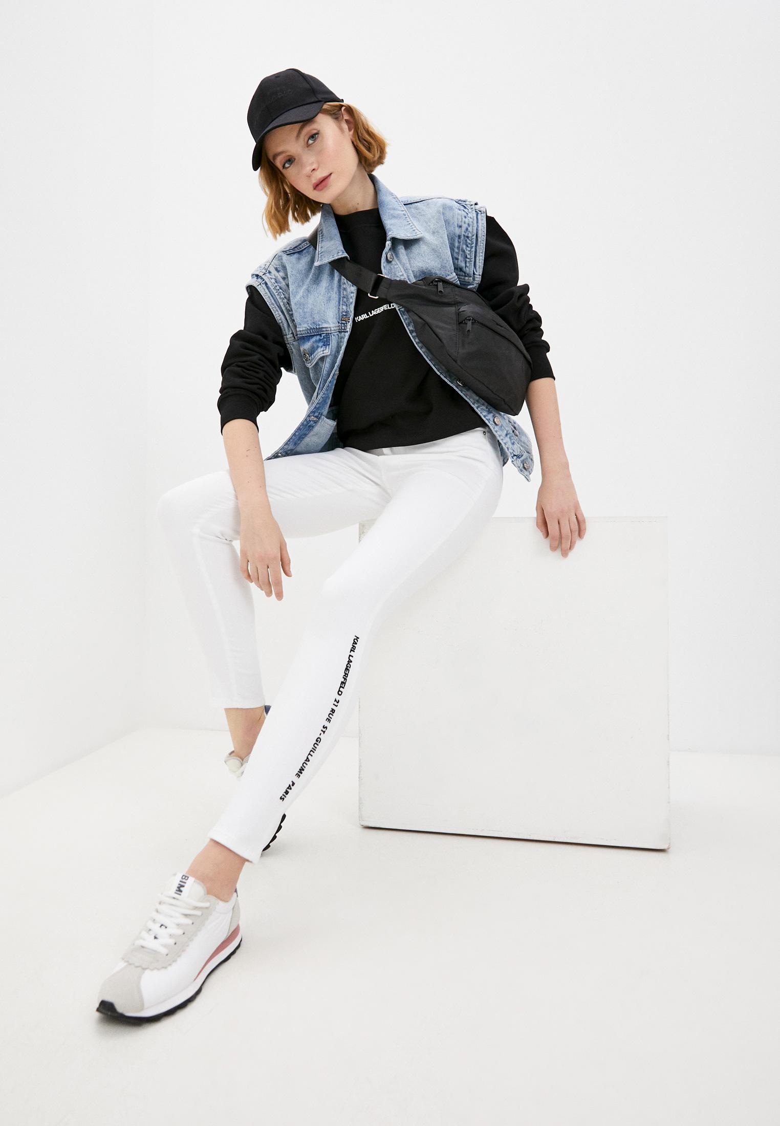 Зауженные джинсы Karl Lagerfeld 211W1103: изображение 3