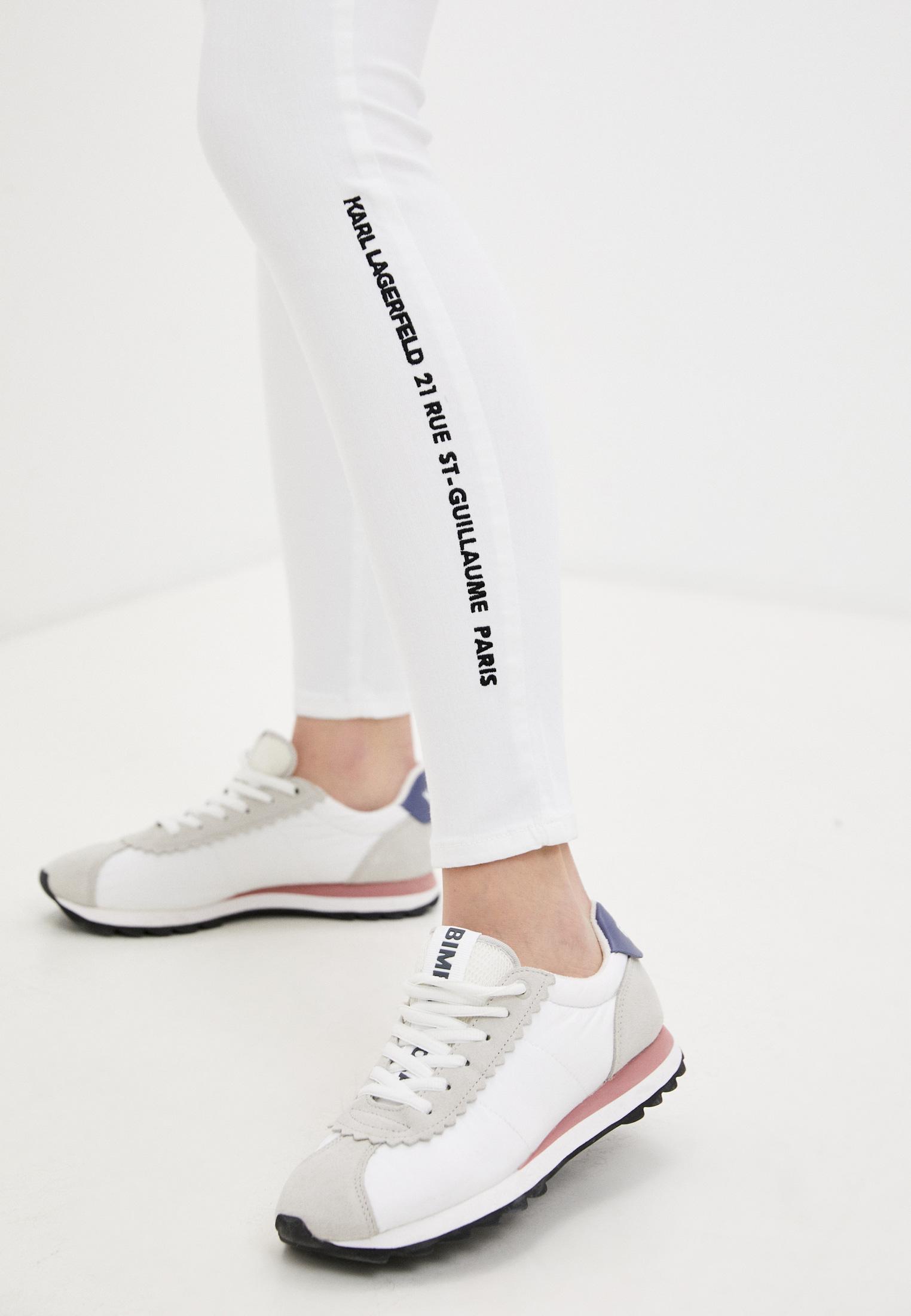 Зауженные джинсы Karl Lagerfeld 211W1103: изображение 5