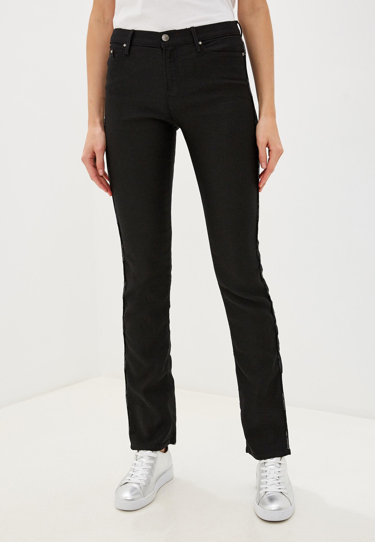 Широкие и расклешенные джинсы Karl Lagerfeld Denim klwp0002