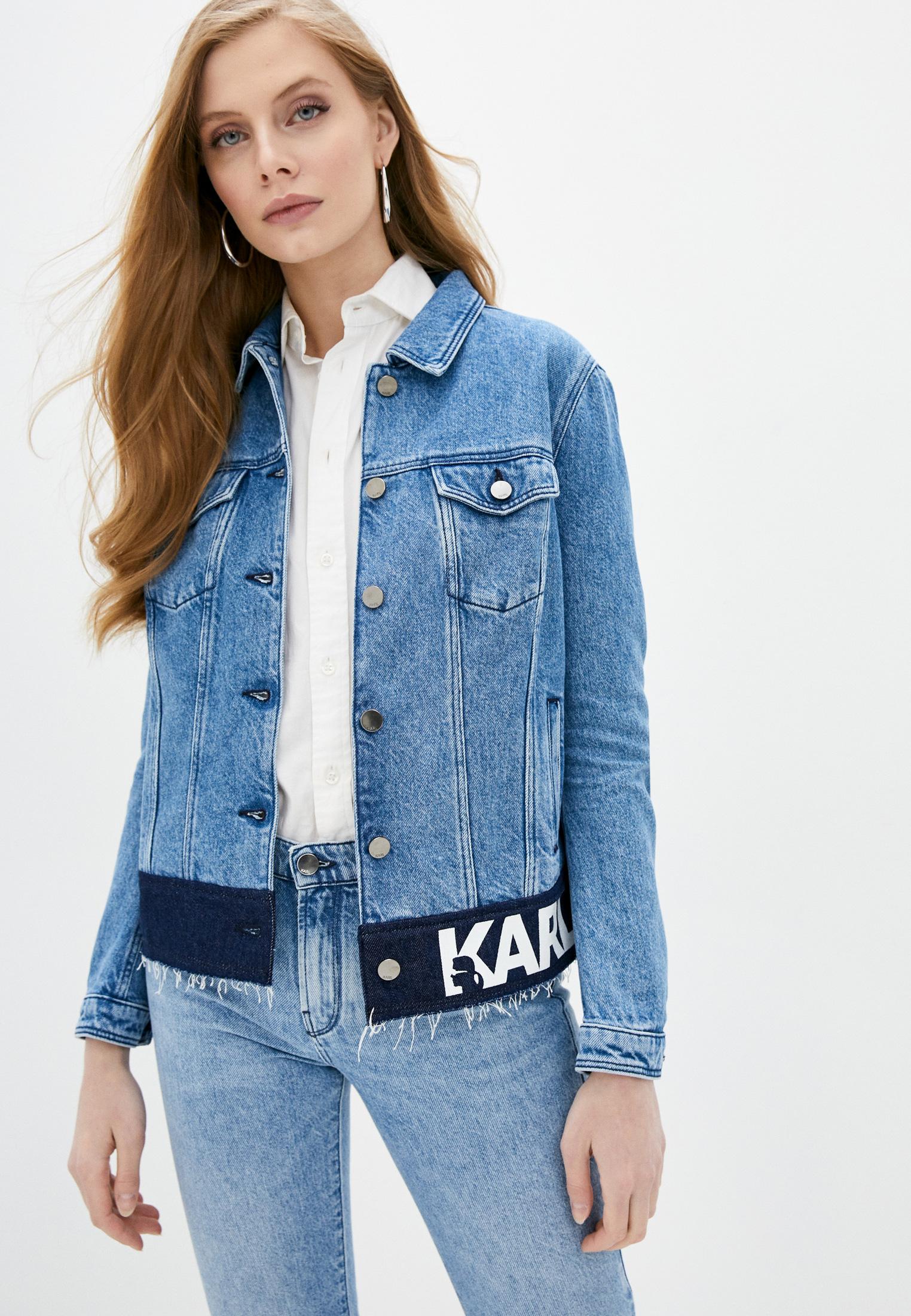 Джинсовая куртка Karl Lagerfeld Denim KLWJ0033FK-02012