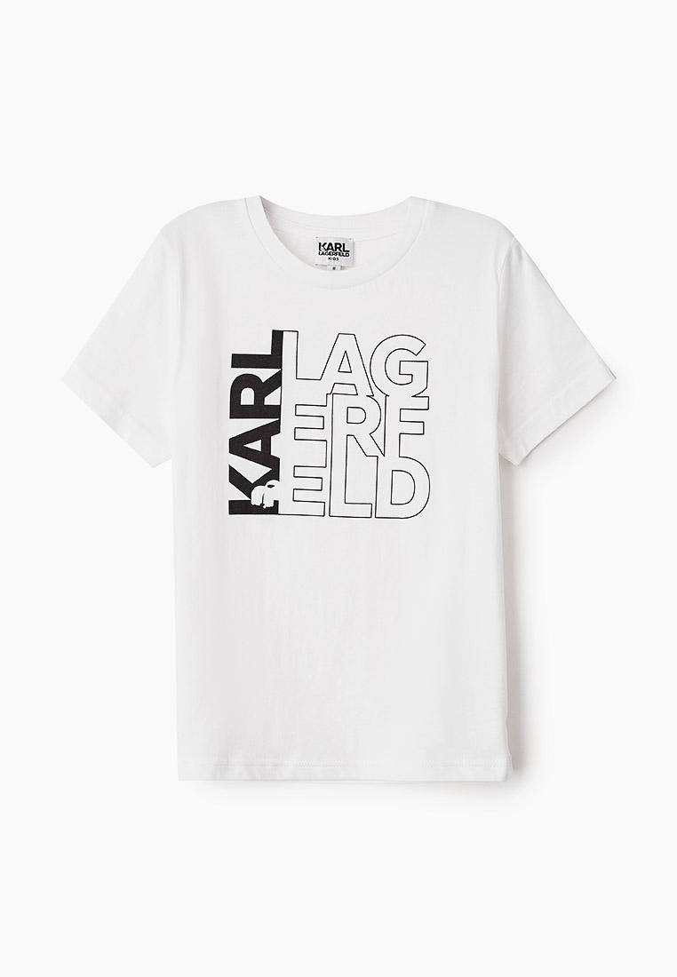 Футболка с коротким рукавом KARL LAGERFELD KIDS Z25253