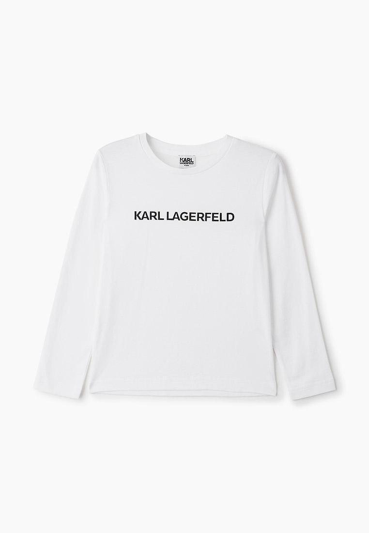 Футболка с длинным рукавом KARL LAGERFELD KIDS Z25243