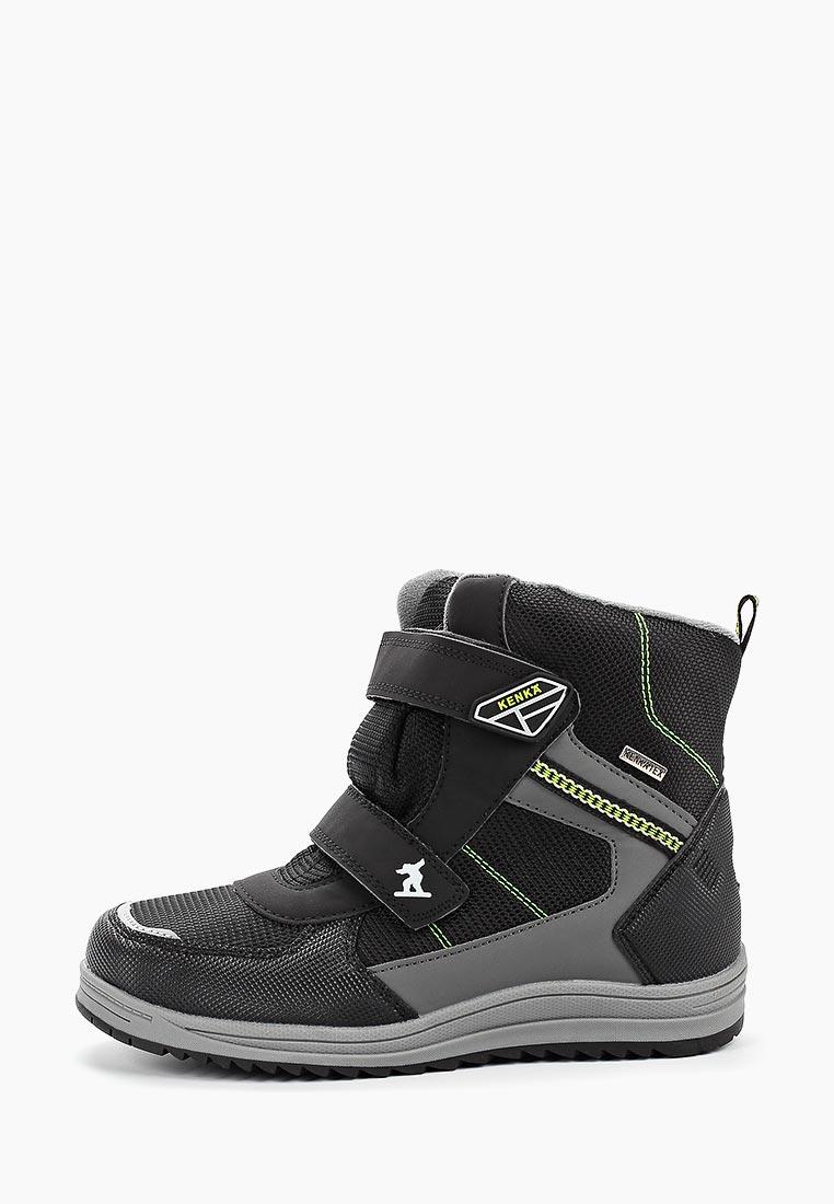 Ботинки для мальчиков KENKA EVG_407_black