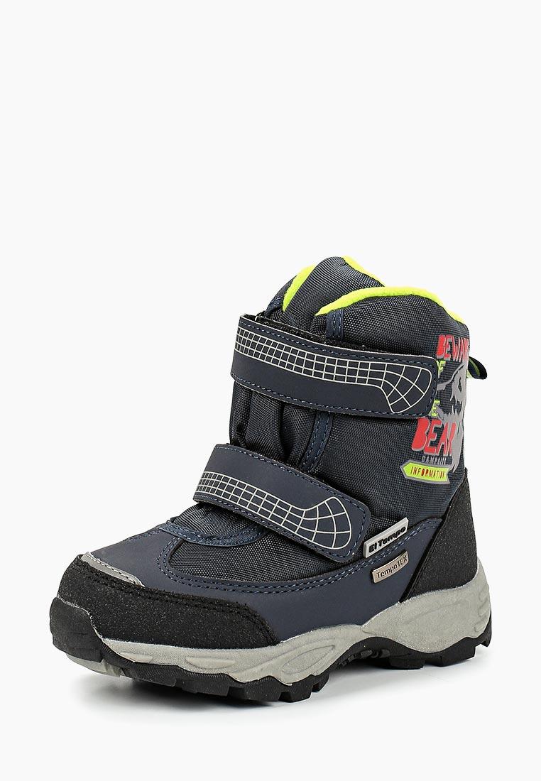 Ботинки для мальчиков KENKA PSH_1503_black