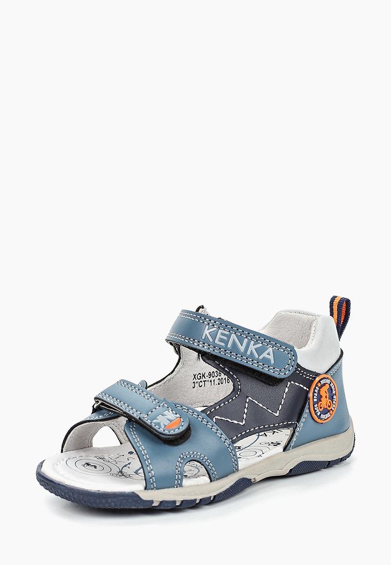 Сандалии для мальчиков KENKA XGK_9036_blue: изображение 2