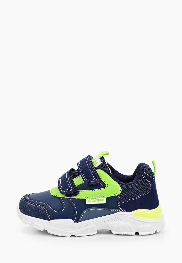 Кроссовки для мальчиков KENKA IQB_201-1_navy-green