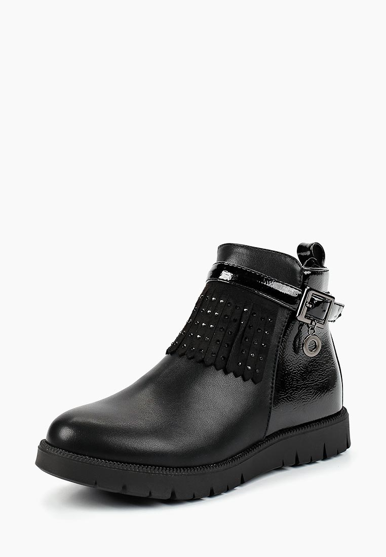 Ботинки для девочек KENKA LME_615_black