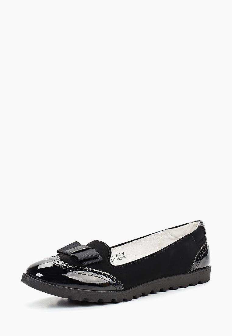 Туфли для девочек KENKA MUF_190-3_black