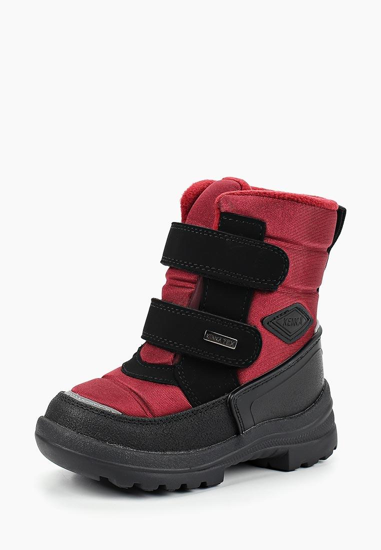 Ботинки для девочек KENKA POO_28-6_bordo