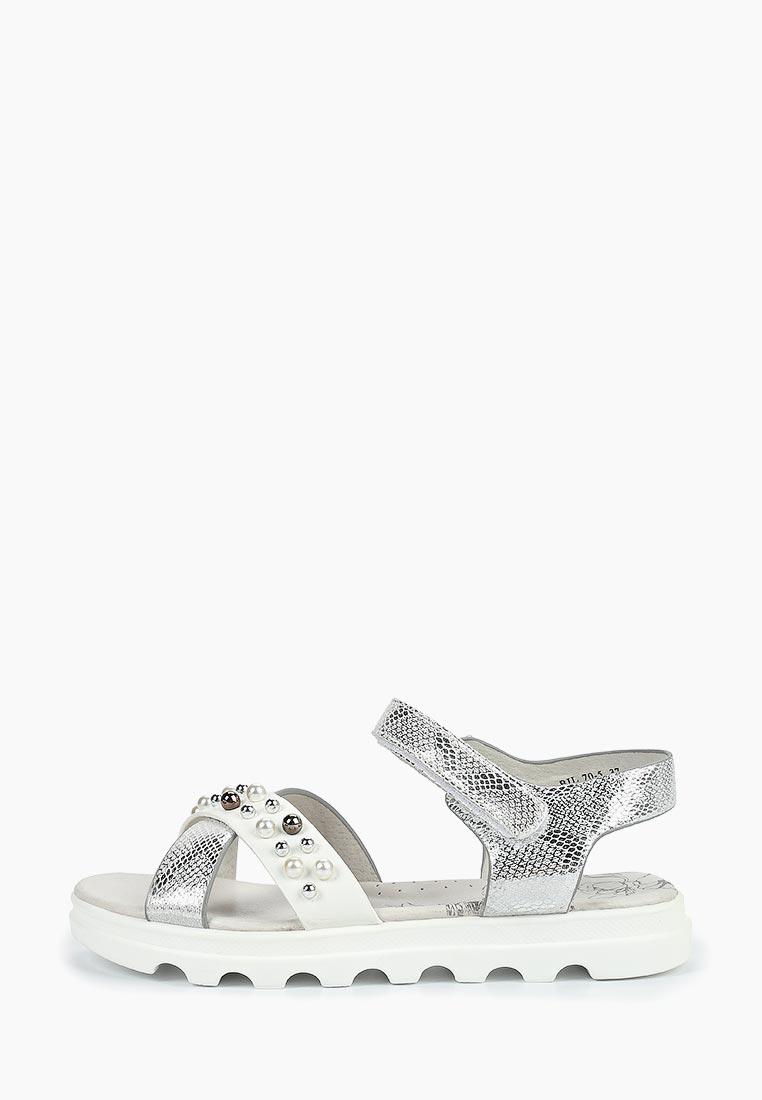 Сандалии для девочек  KENKA BIT_70-5_white-silver