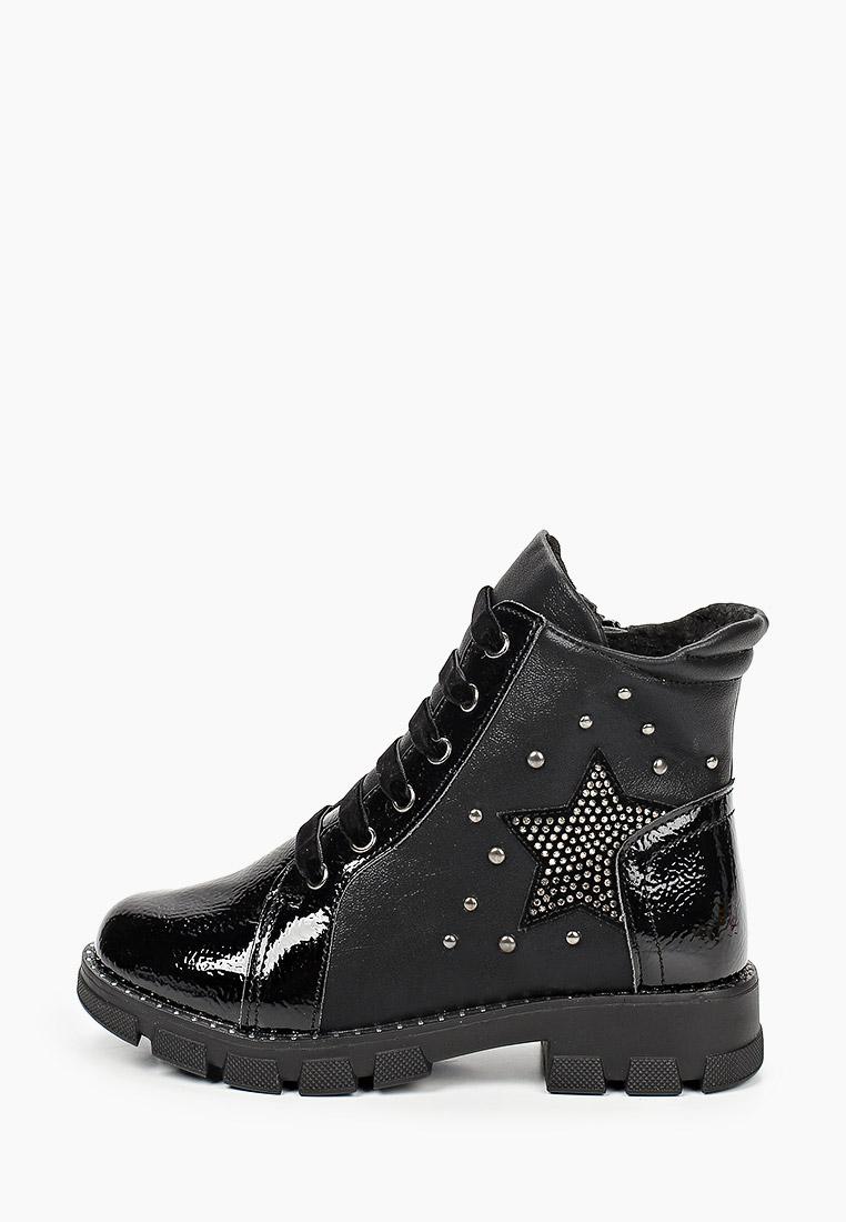 Ботинки для девочек KENKA LRG_2071_black