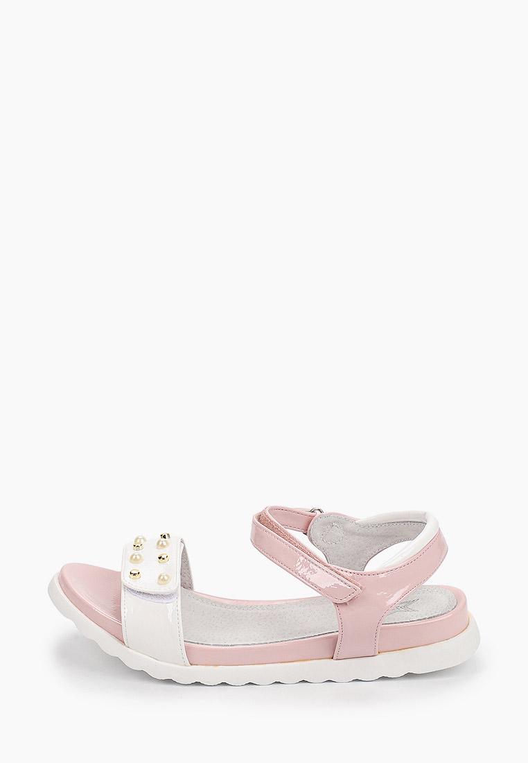 Сандалии KENKA BDA_8237_white-pink