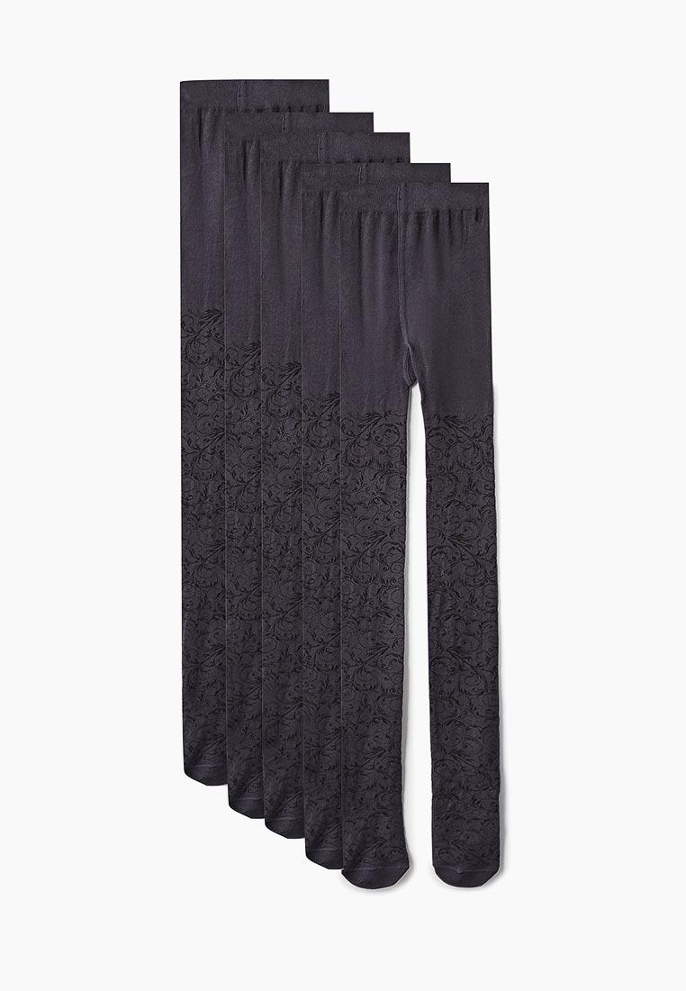 Колготки для девочек KENKA С813(Э)-140_серый