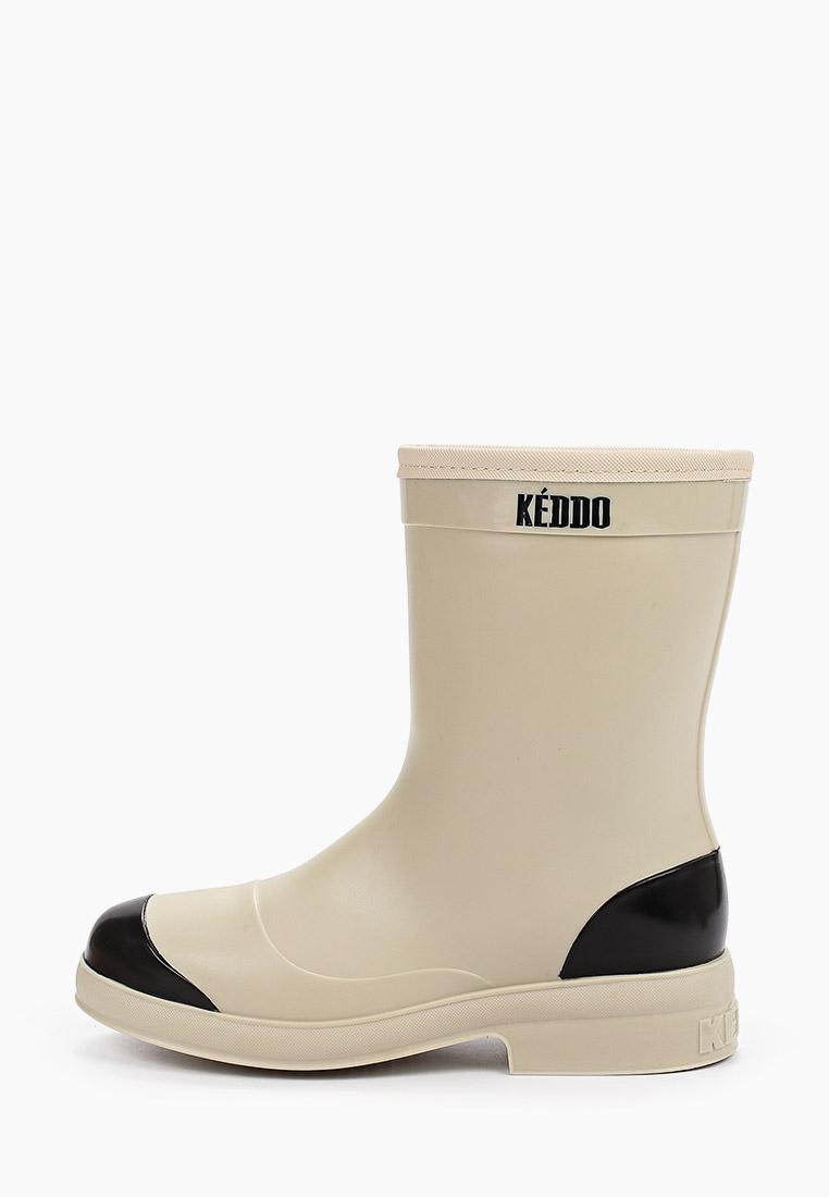 Женские резиновые полусапоги Keddo (Кеддо) 898271/01-03