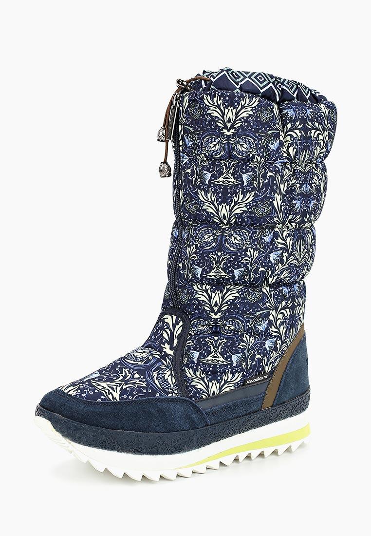 Женские дутики King Boots (Кинг Бутс) KB670BL