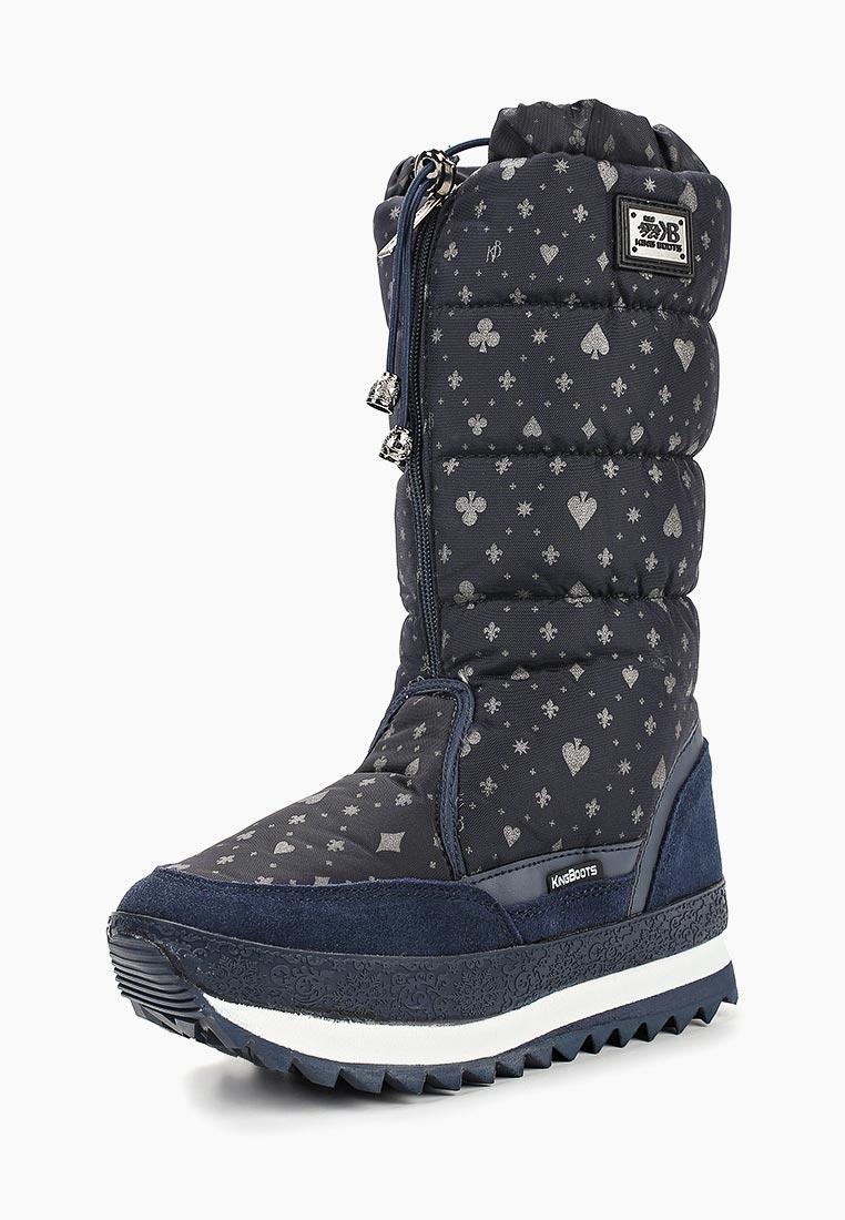 Женские дутики King Boots (Кинг Бутс) KB692BL
