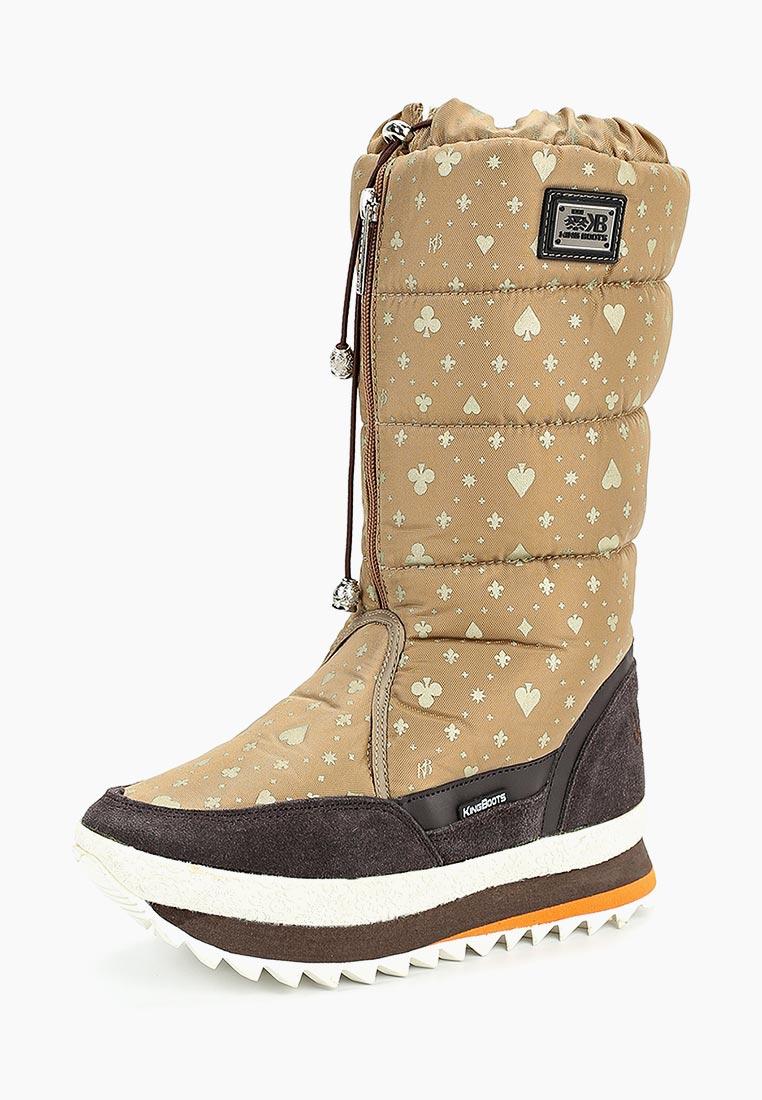 Женские дутики King Boots (Кинг Бутс) KB694BG