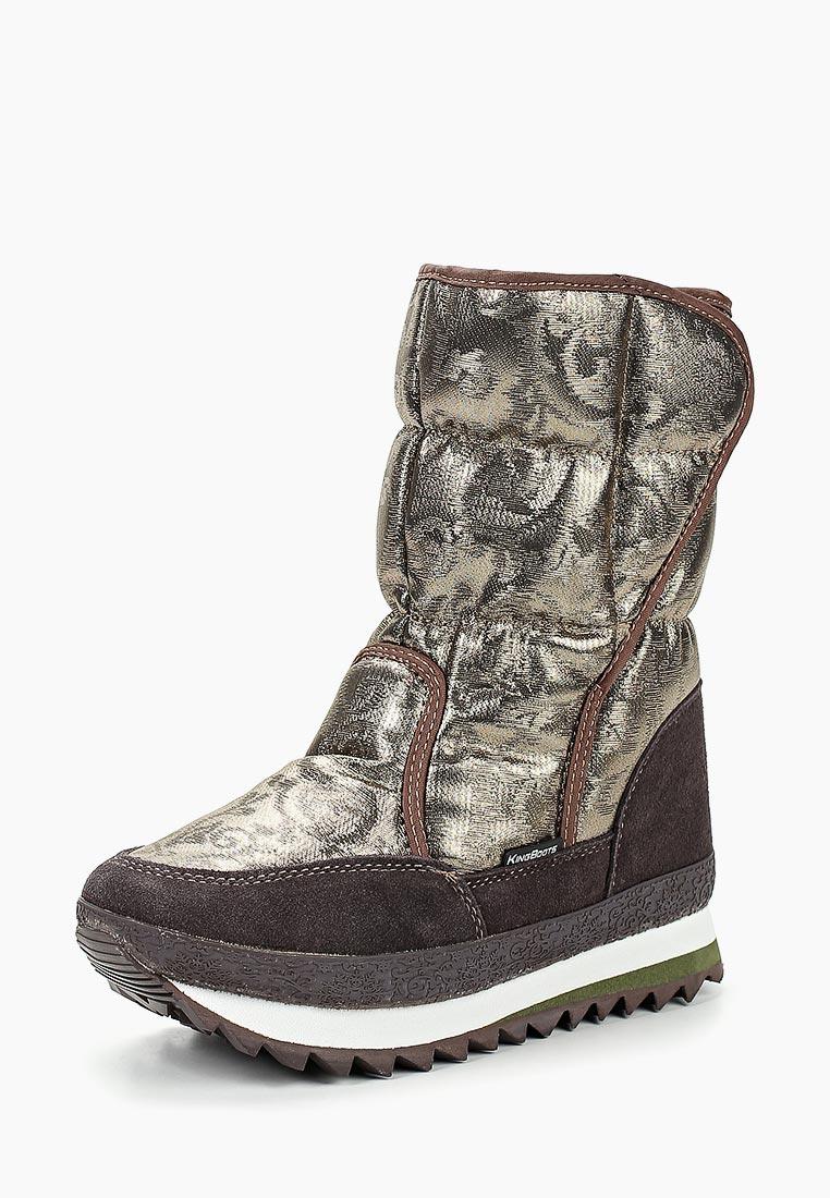 Женские дутики King Boots KB677BR