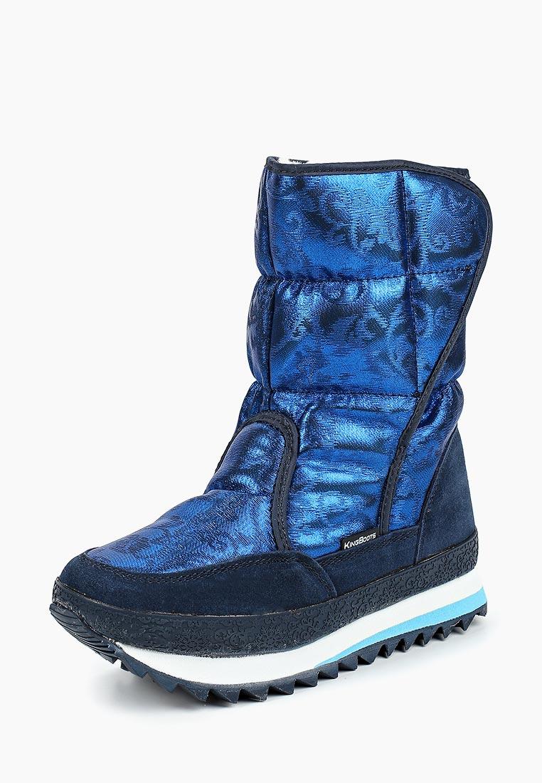 Женские дутики King Boots (Кинг Бутс) KB696BL