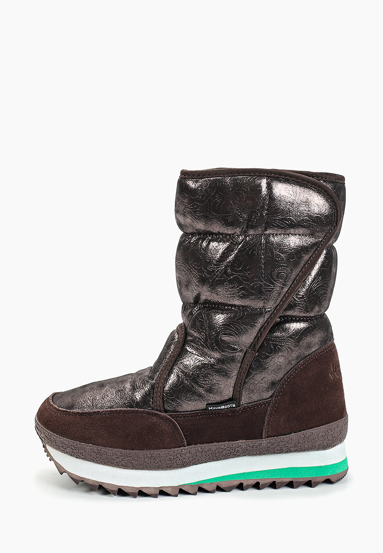 Женские дутики King Boots KB777BR