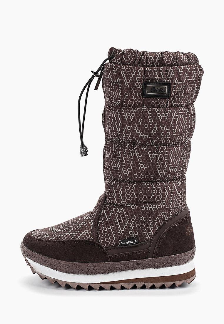 Женские дутики King Boots (Кинг Бутс) KB787BR