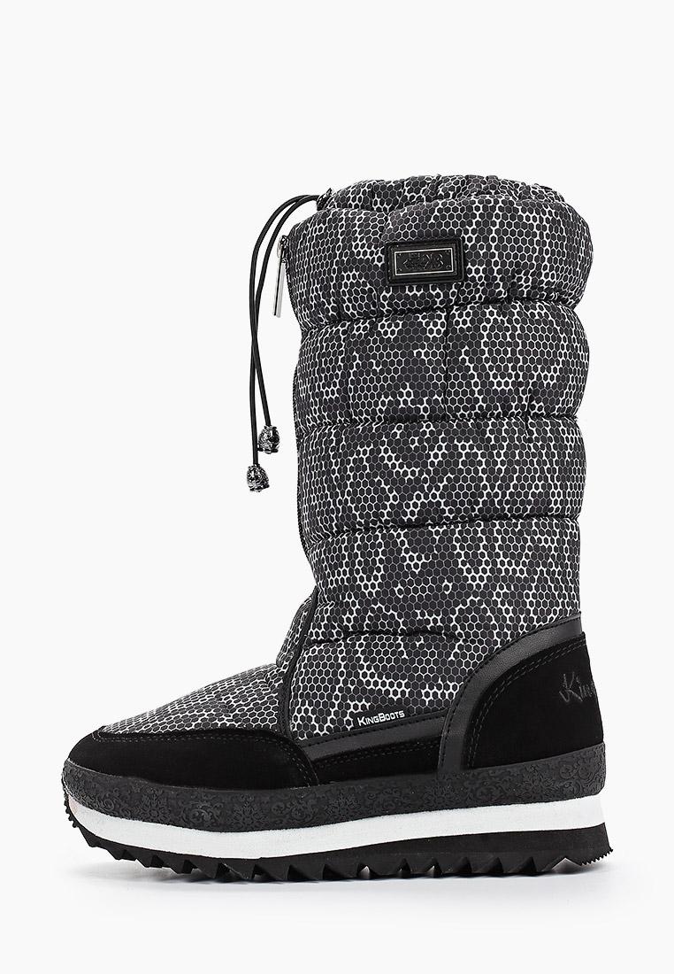 Женские дутики King Boots KB787SW