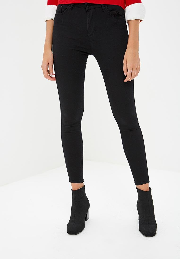Зауженные джинсы Kiss Pink B002-f051-1