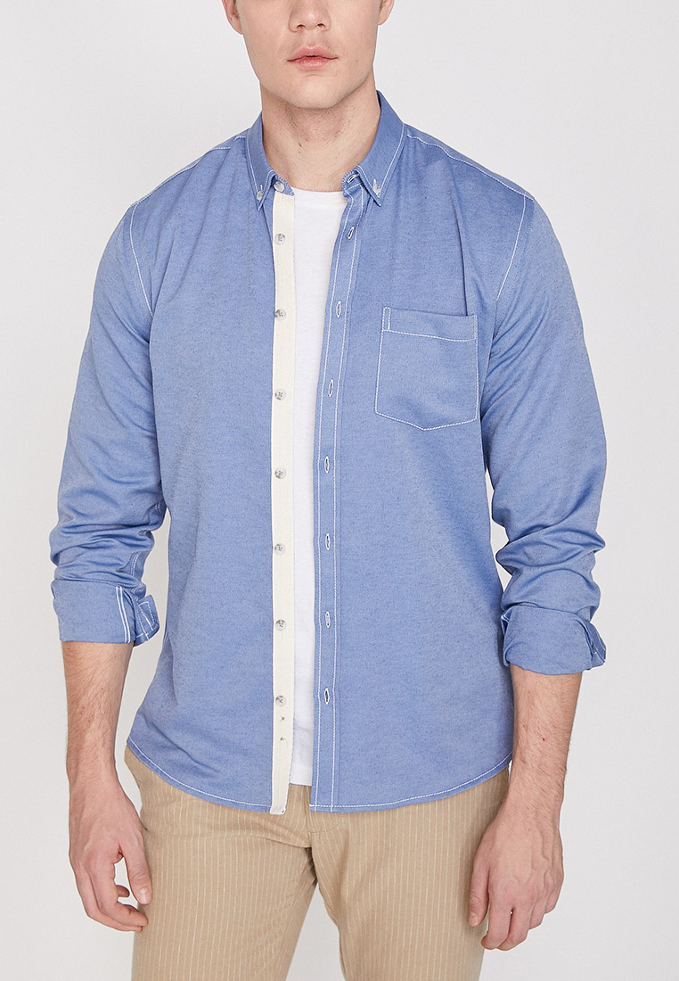 Рубашка с длинным рукавом Koton 9YAM61890BW